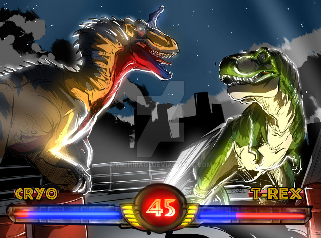 Jurassic Park : Warpath 'San Diego showdown' by Michiragi