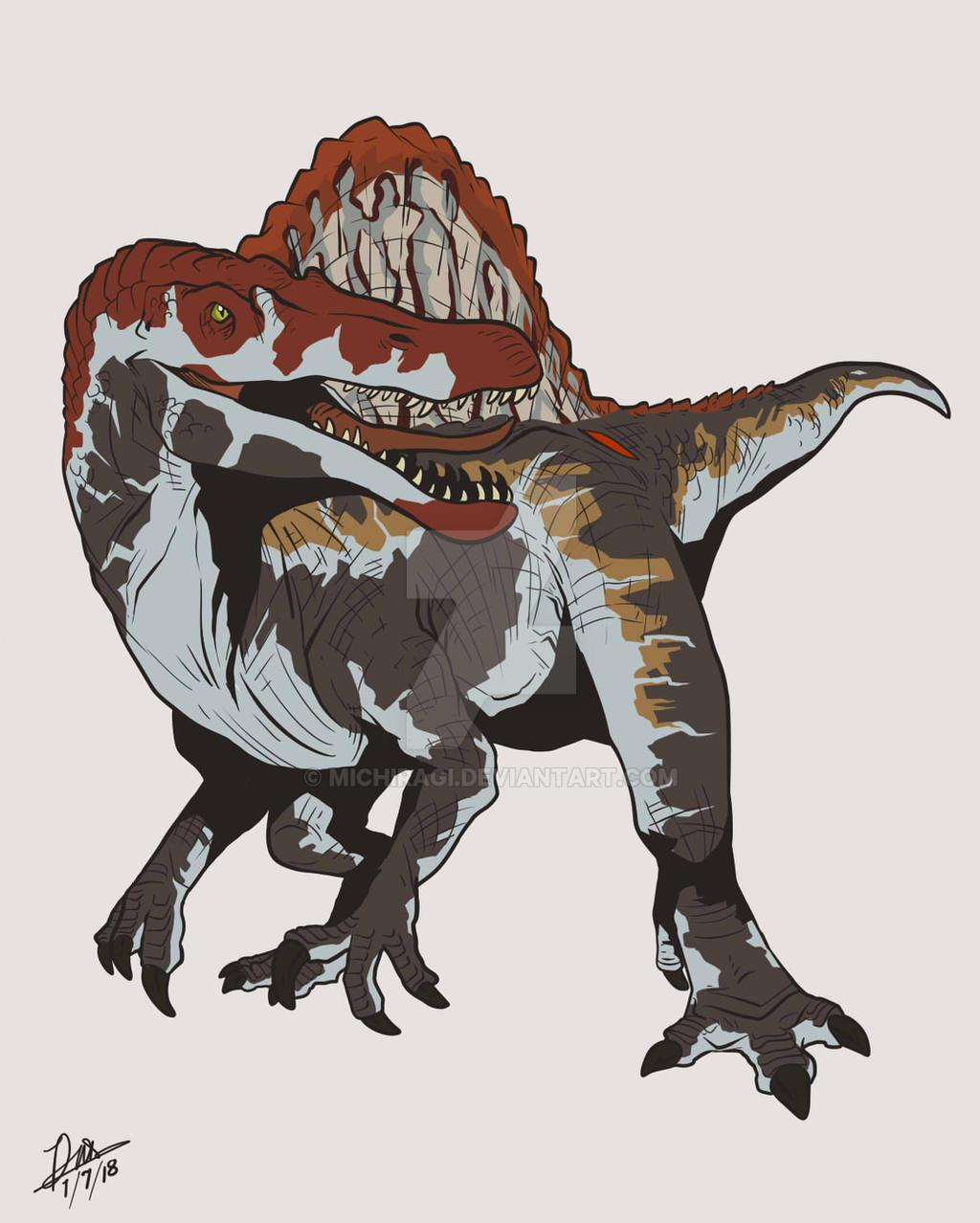 Spinosaurus jurassic park 3 jurassic world by michiragi on deviantart - Spinosaurus jurassic park ...
