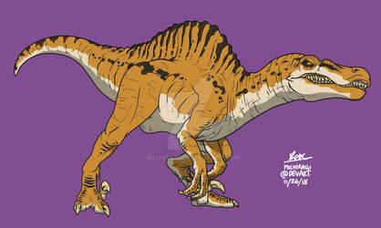 Spinoraptor (JW Evolution : Secrets of Dr.Wu)