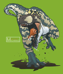 Albertosaurus (Jurassic World Evolution) by Michiragi