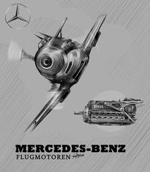 Mercedes-Benz Flugmotoren by Bephza