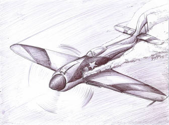 Hawker Sea Fury by Bephza
