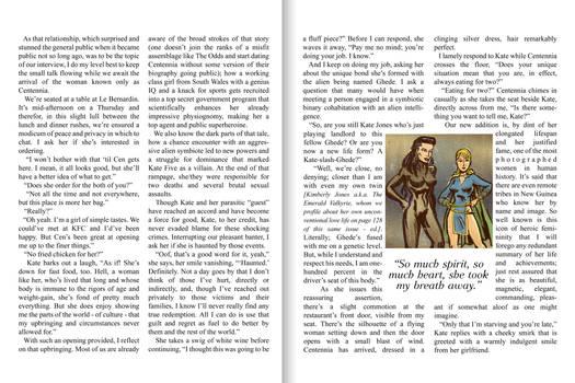 Centennia and Kate 5 Vogue interview pt. 2