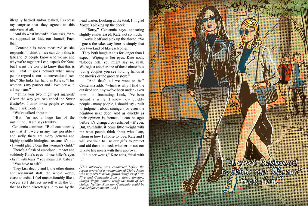 Centennia and Kate 5 Vogue interview pt. 6 by Gwynplainest
