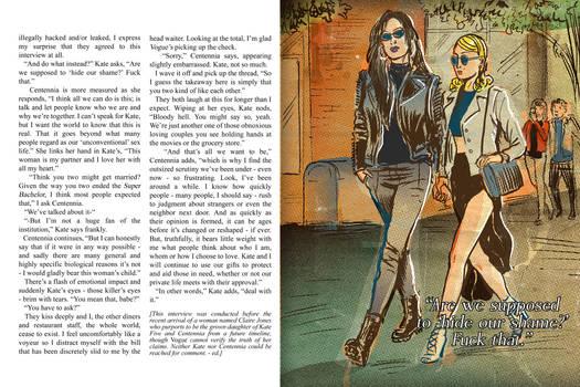 Centennia and Kate 5 Vogue interview pt. 6