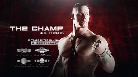 The Champ is Here - John Cena wallpaper