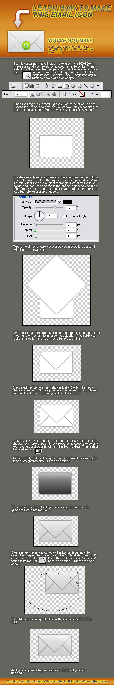Email Icon Tutorial by RIM-FIRE
