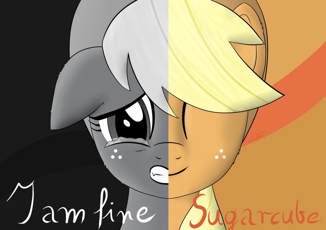 I am fine Sugarcube by UU-Unknown-User