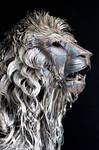 METAL LION SCULPTURE BY SELCUK YILMAZ