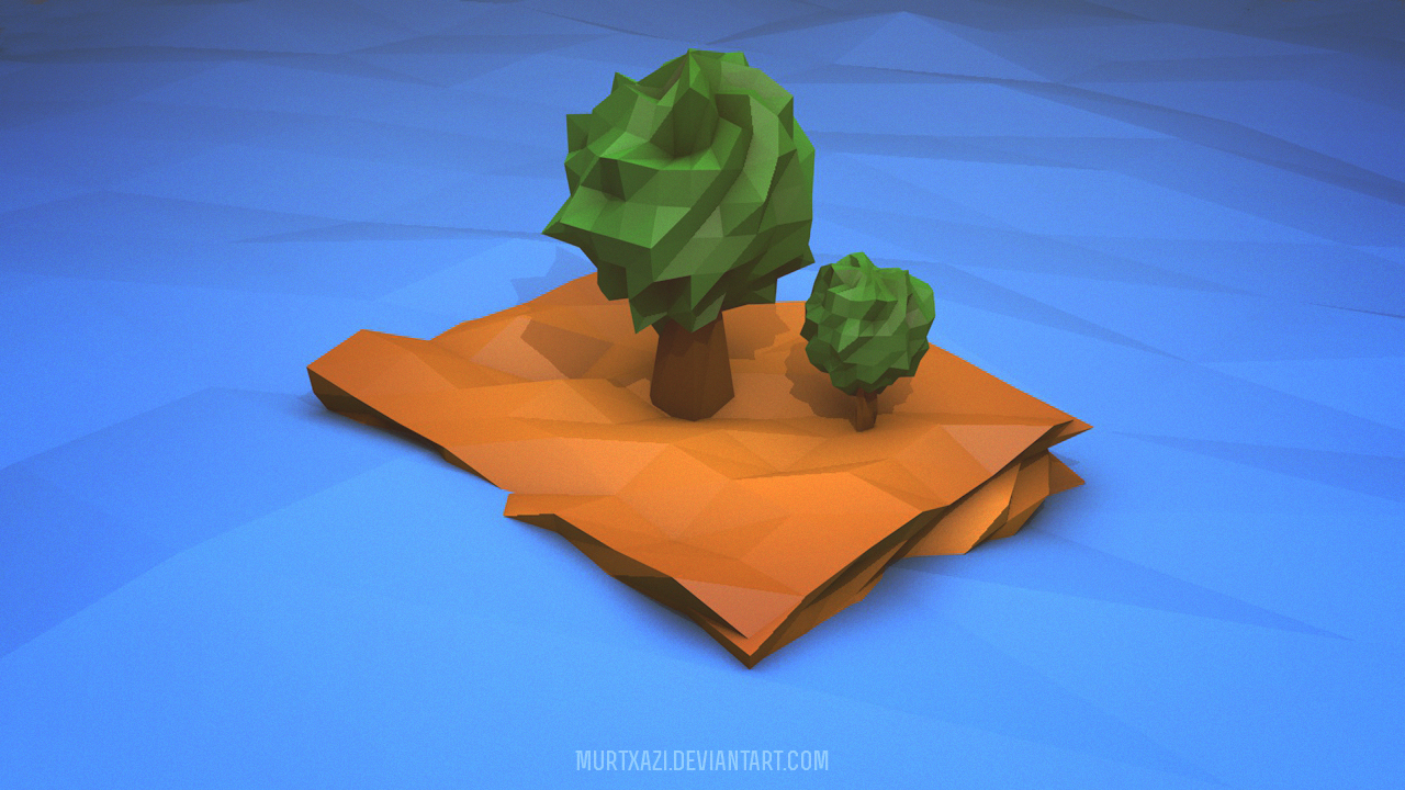 Low Poly Island by MurTXazI