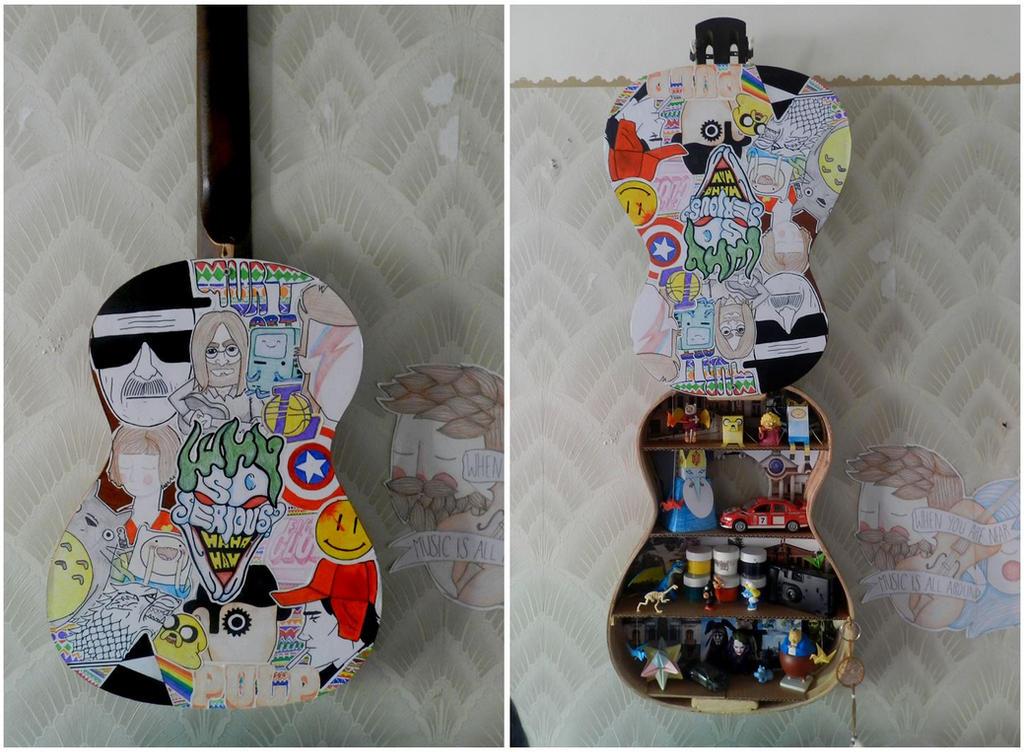 Handmade Guitar Shelf by MurTXazI