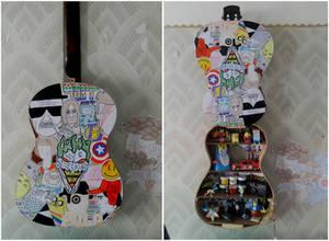 Handmade Guitar Shelf