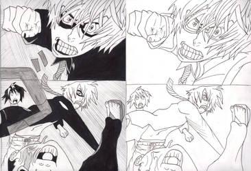 Bakuman Shujin Punch, LinArt And Inked