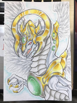 Light End Dragon Commission