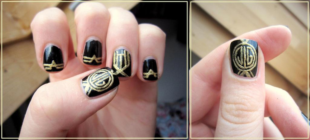 The Great Gatsby Nails by JlndRmll