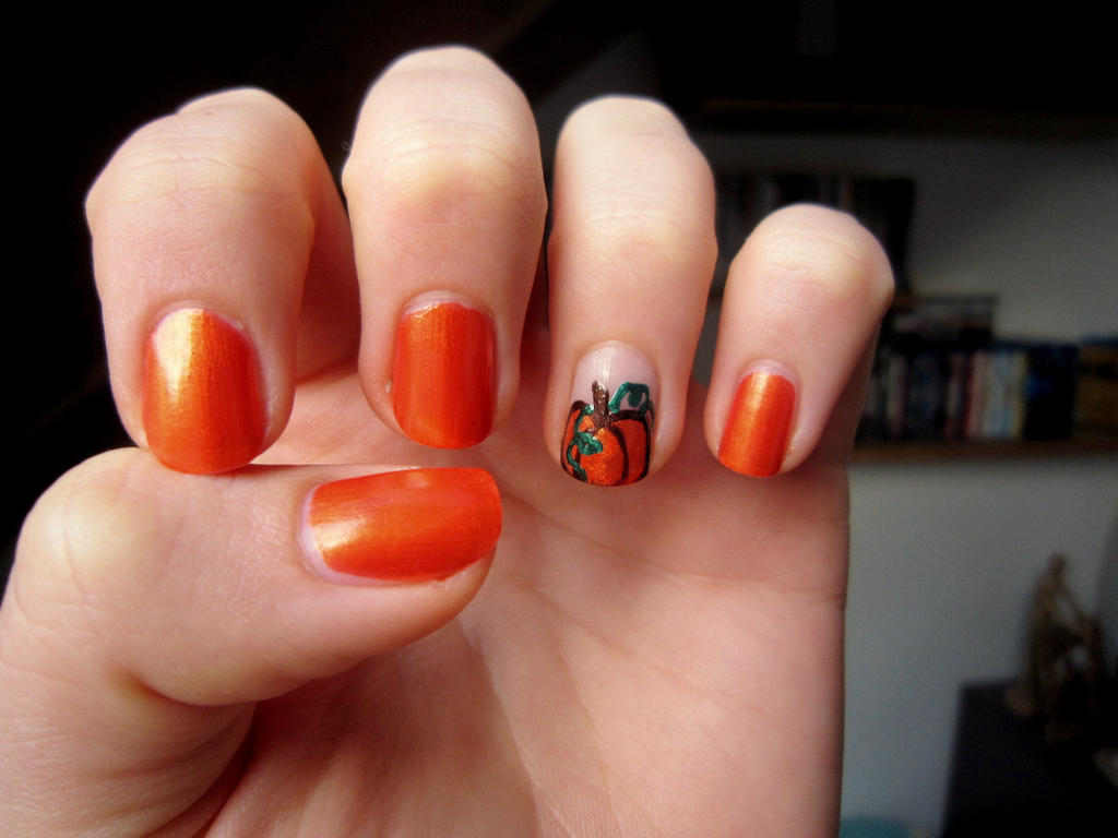 Autumn Nail Design 1 By Jlndrmll On Deviantart