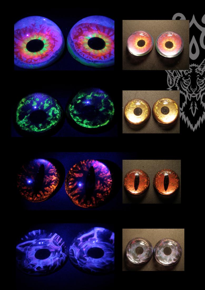 UV Reactive Eyes by KandorinCreations