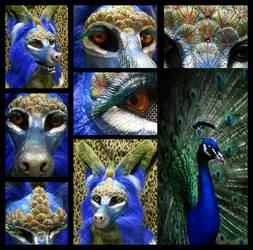 Peafox Mask! by KandorinCreations