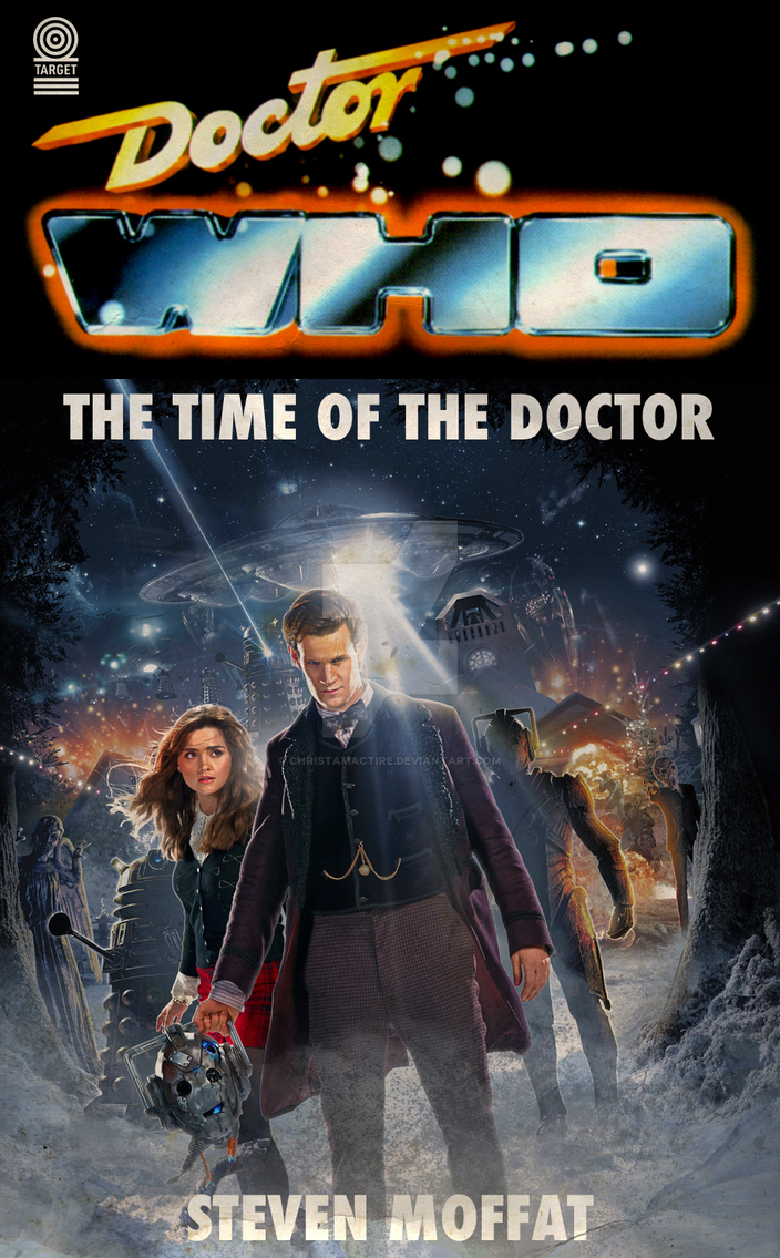 New Series Target Covers: Time of the Doctor by ChristaMactire