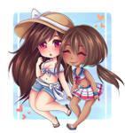 Akira and Sasara    OC