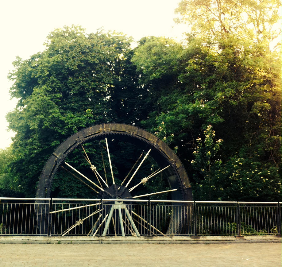 The old mill-wheel by unholyghost842