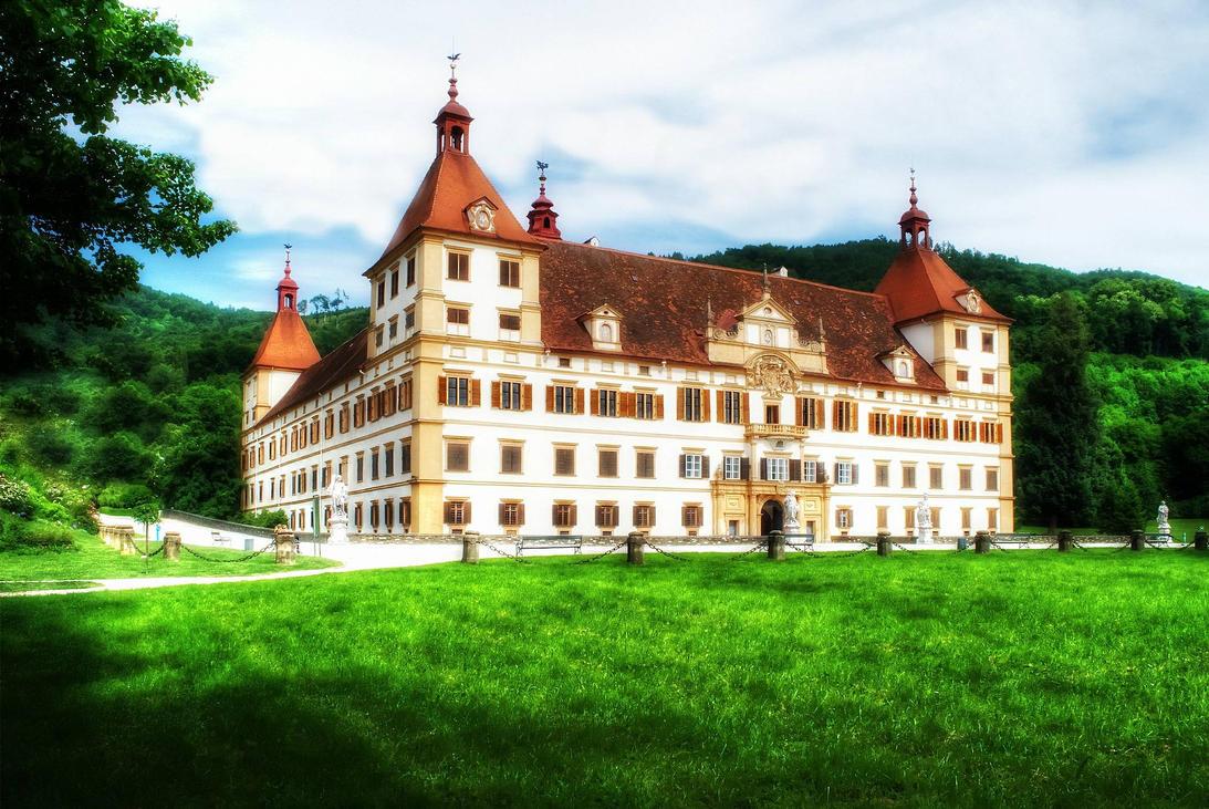 Schloss Eggenberg Austria by schiller142