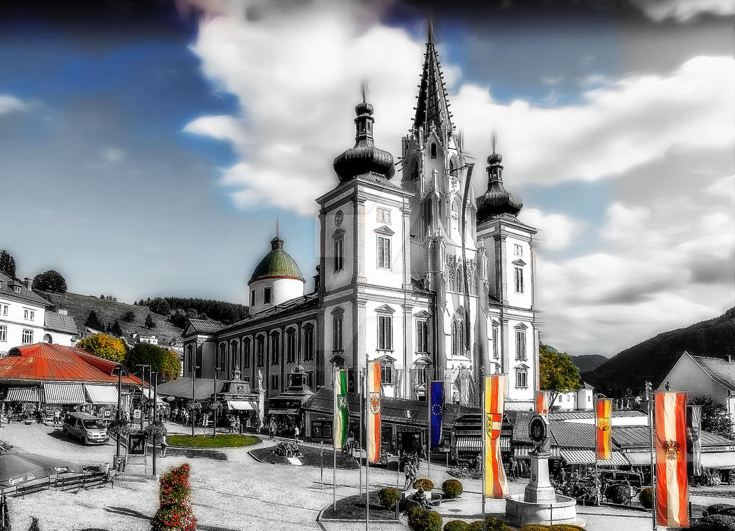 Mariazell - Basilika by schiller142