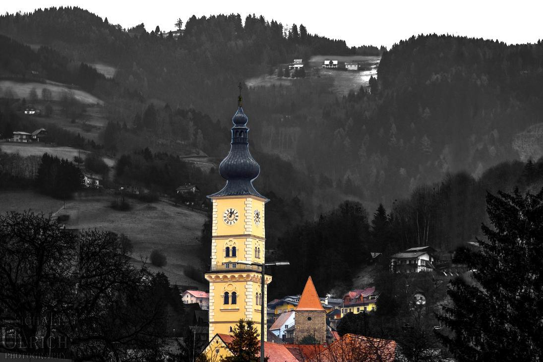 Kirche Wolfsberg Austria by schiller142