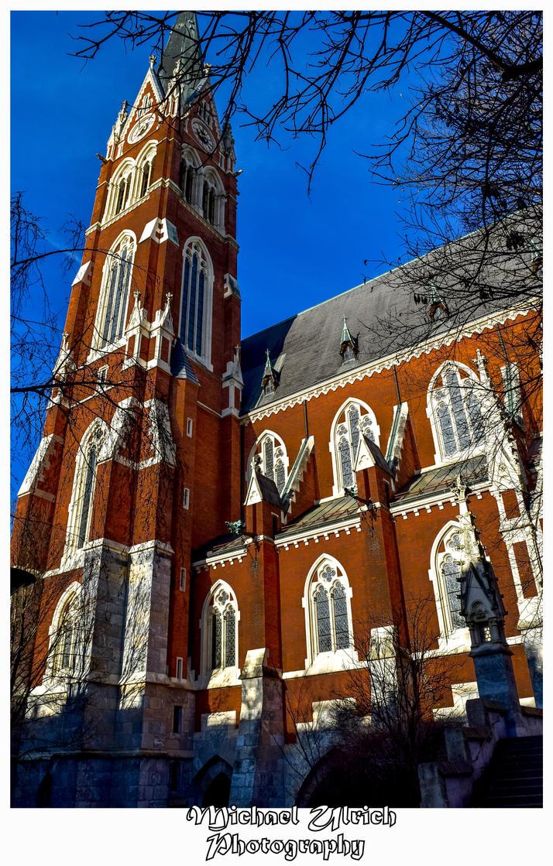 Kirche Herz Jesu Graz Austria by schiller142