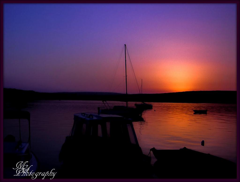 77 Sonnenuntergang Streifen Korvette