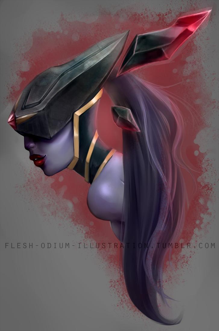 Bloodstone Lissandra by Flesh-Odium