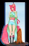 Saki (cellshade commission)