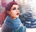 Winter Wonderland (re-upload) by Willow-Bell