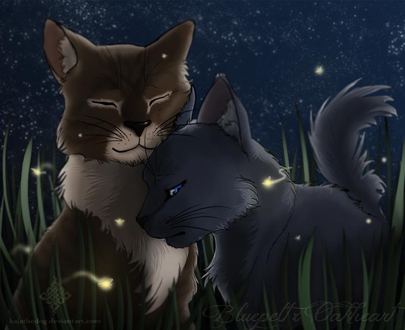 Forbidden Love: BluexOak by KajatheDog