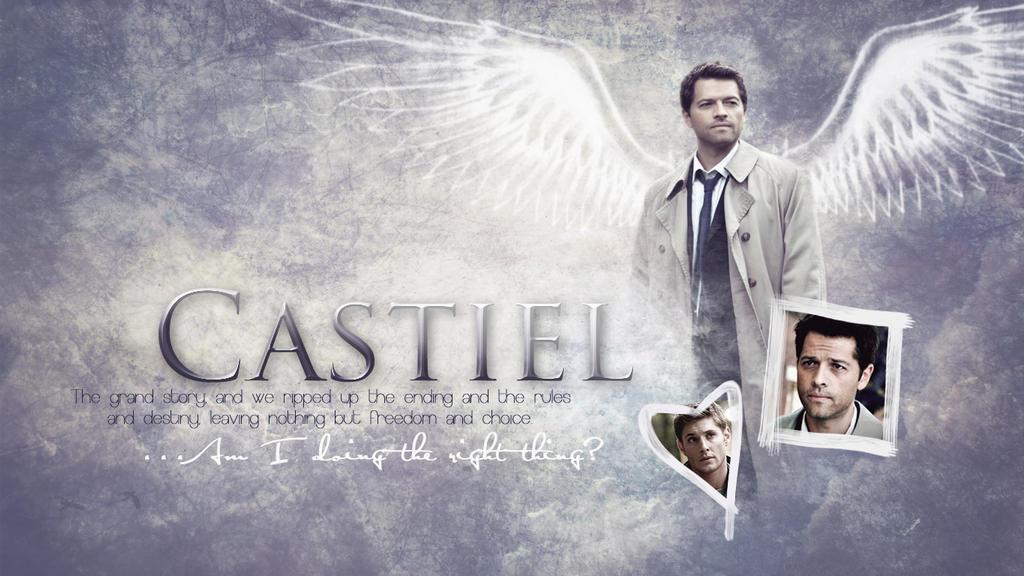 Castiel Wallpaper Tumb...