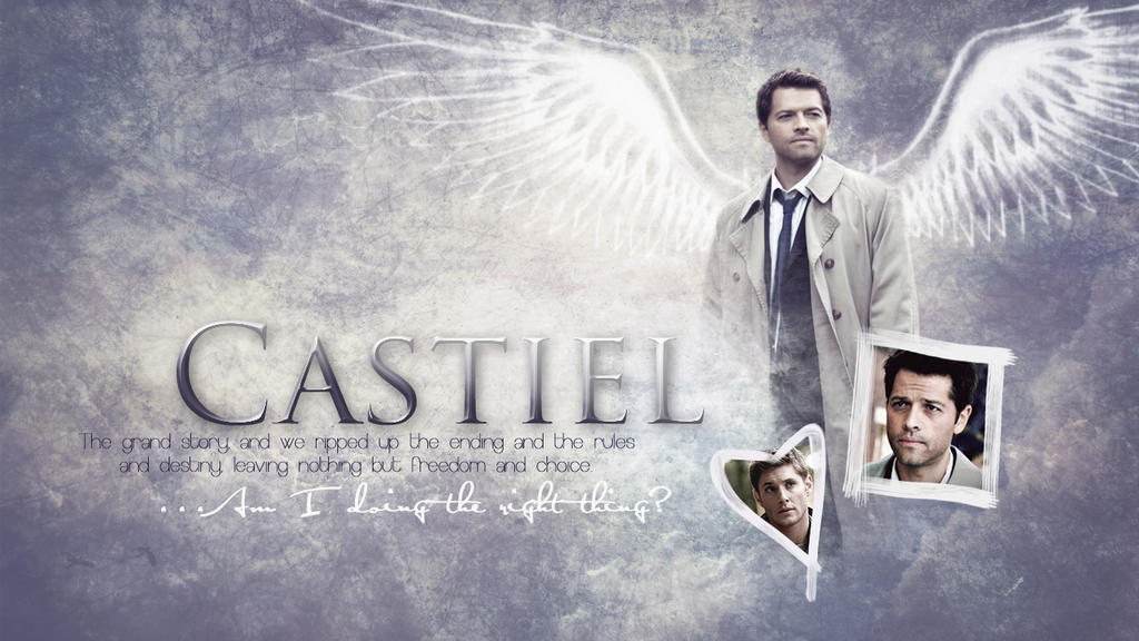 Wallpaper Castiel By KajatheDog