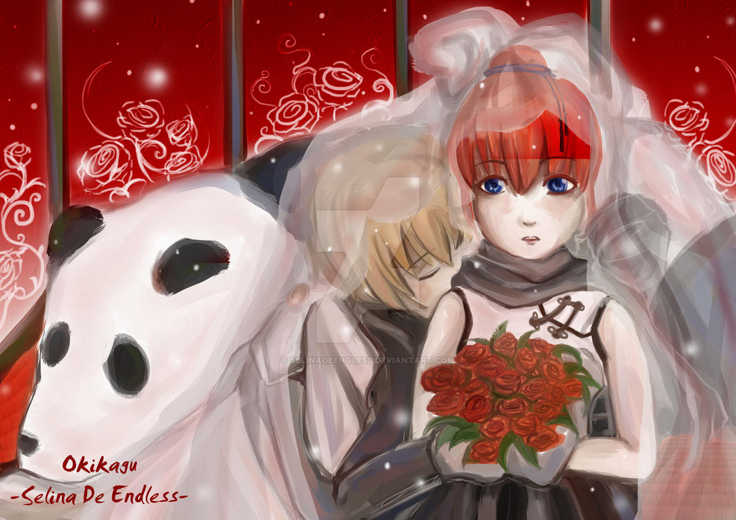 Okikagu Panda bride by SelinaDeEndless