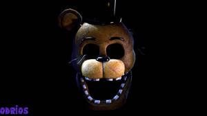 Golden Freddy head (realism test)