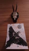 Shamanic Eagle by tarotribe