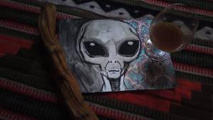 Yage Alien by tarotribe