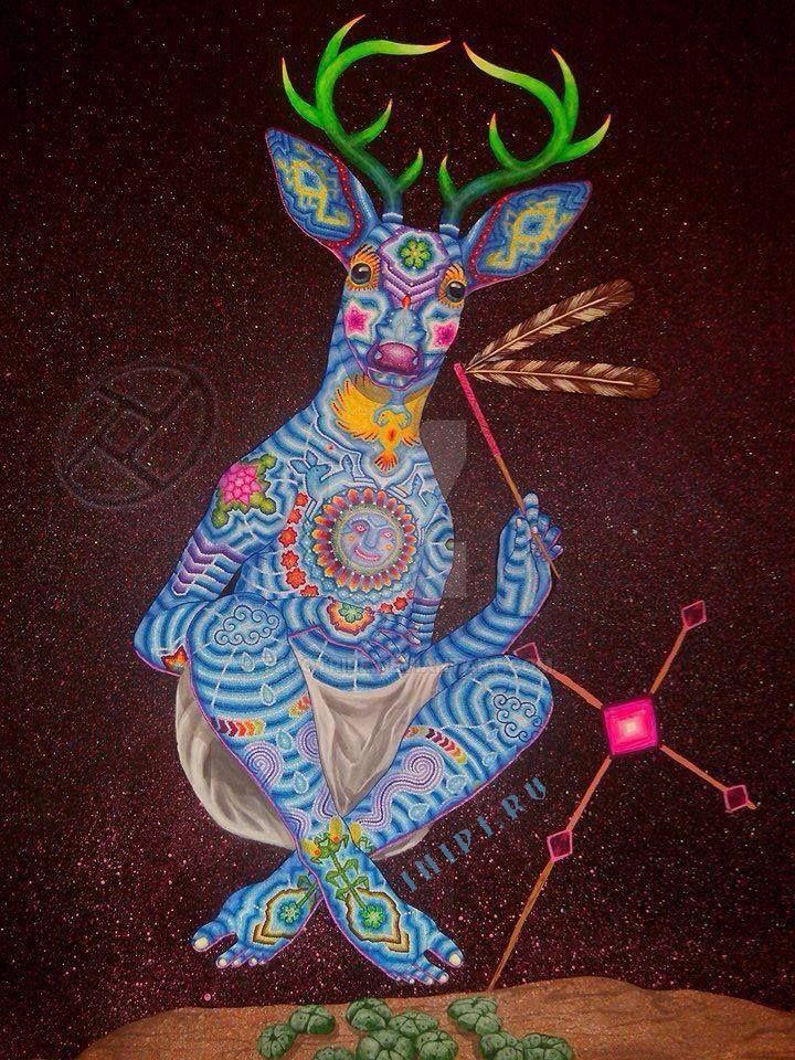 Shamanic Deer by tarotribe