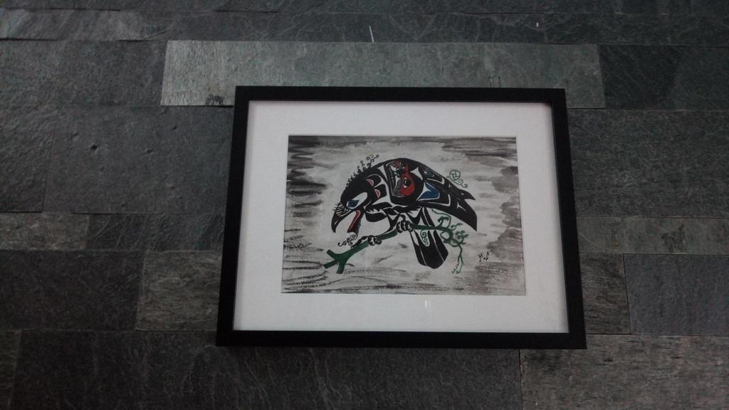 Totem Crow  by tarotribe