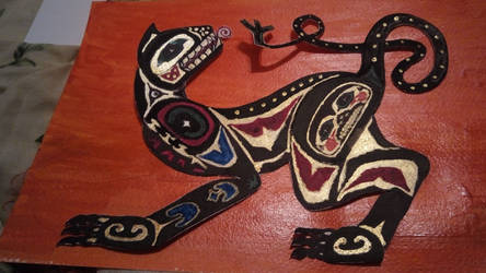 Totem Panther by tarotribe