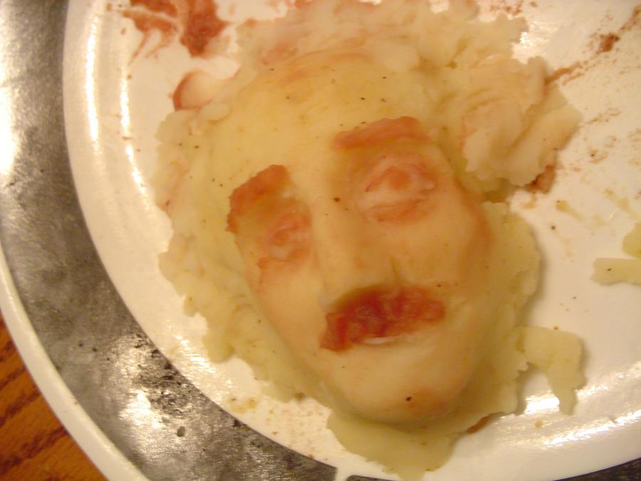 Einstein a la Potatoes