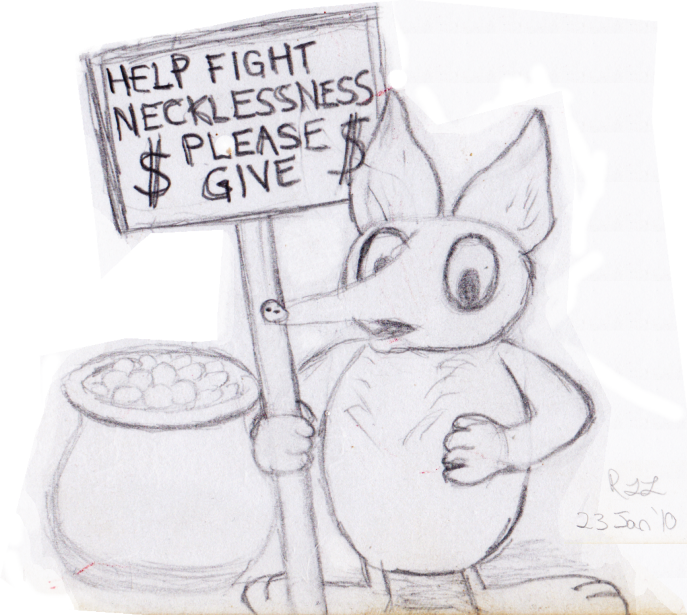 Help Fight Necklessness by copperphoenix