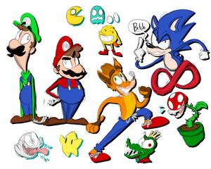 Epic Gamer Doodles