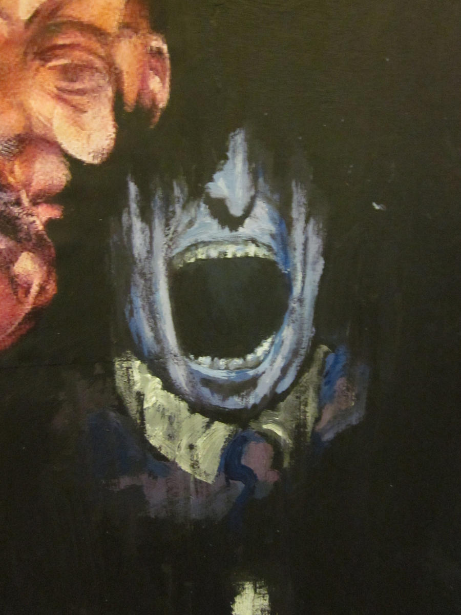 Francis Bacon Screaming Pope artist research-Scream...