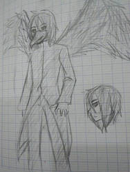 Crow the Ghoul remake by matabeo70