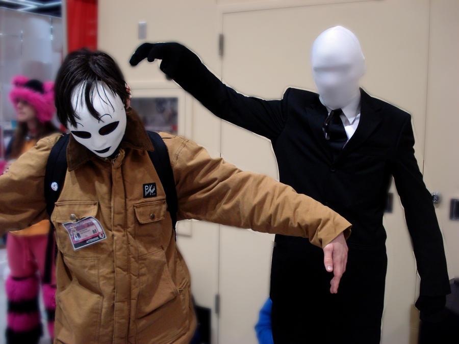 Creepypasta Masky X Slendy