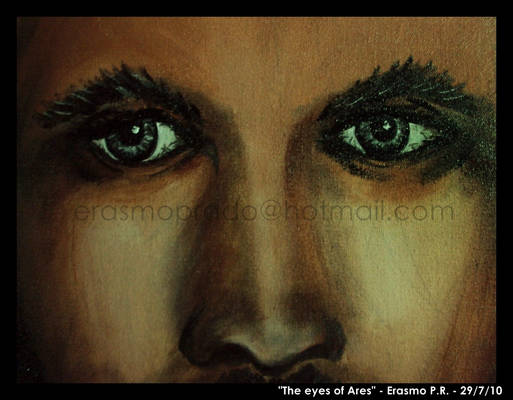 The eyes of Ares